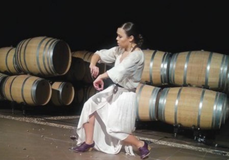 CHOREOGRAPHER ROCIO MOLINA performs her one-woman piece