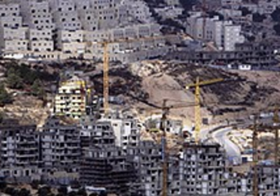 187,000 e. J'lem Jewish homes planned