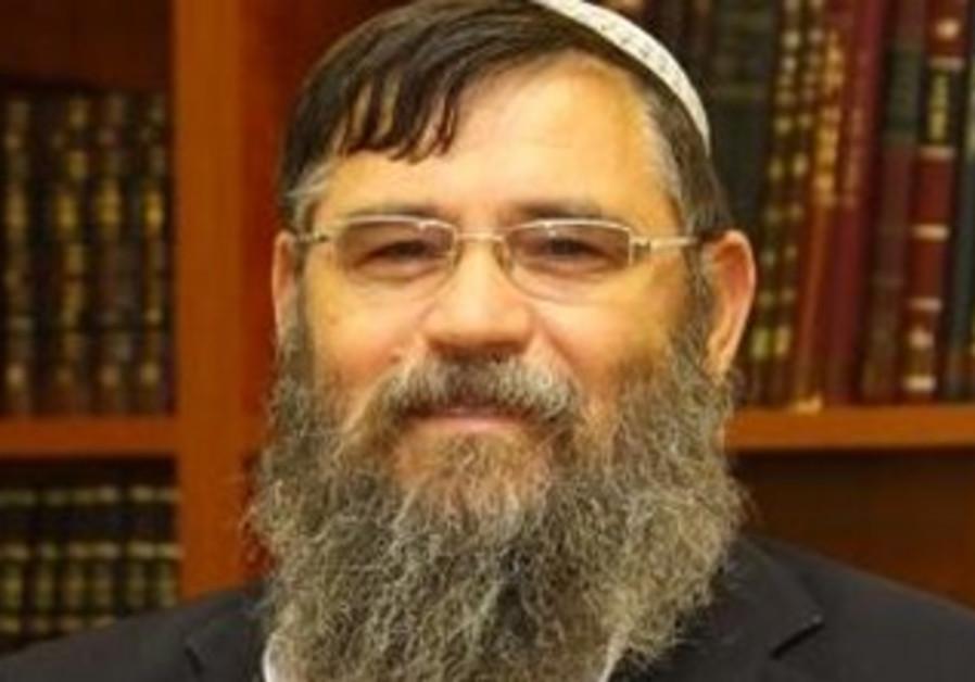 Rabbi Eliezer Shenvald, the dean of Meir Harel yeshivas