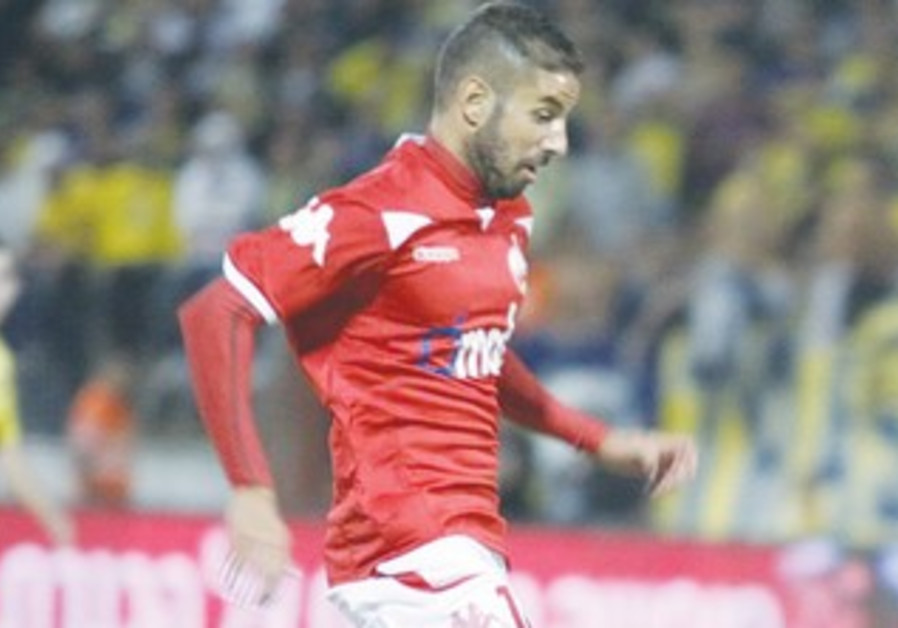HAPOEL BEERSHEBA striker Dovev Gabai