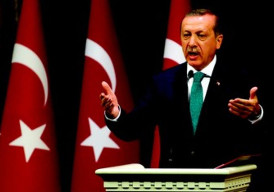 Le 1er ministre turc se rêve en sultan des temps modernes. Quitte à sacrifier son allié israélien.