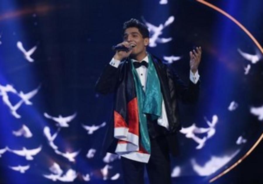 Palestinian singer Mohammed Assaf