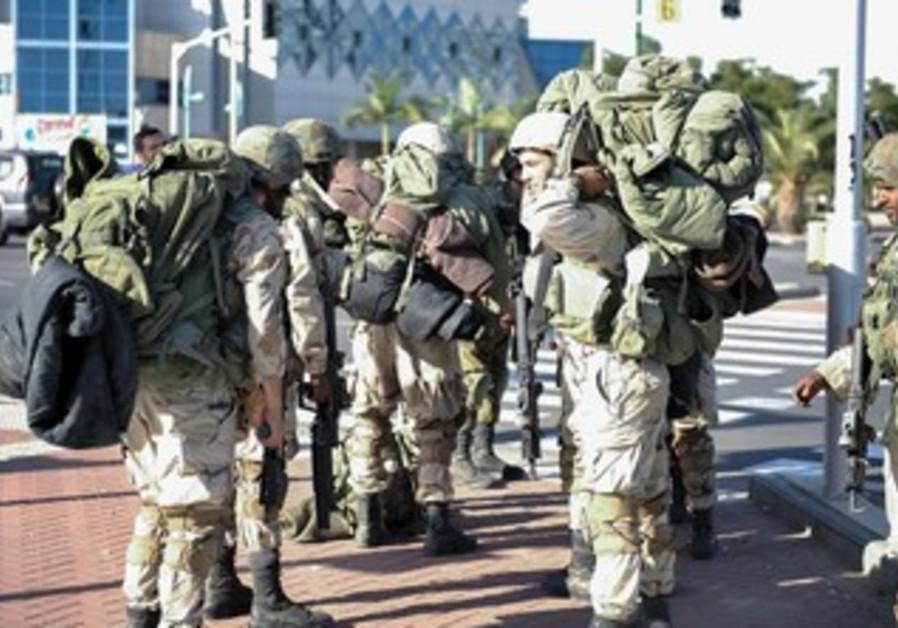IDF's Gaza Division simulates ground invasion of the Gaza Strip in and around Ashkelon, Nov 2013.