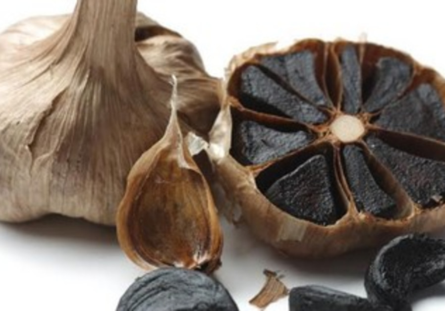 Black garlic is a type of caramelized garlic used as a food ingredient in Asian cuisine