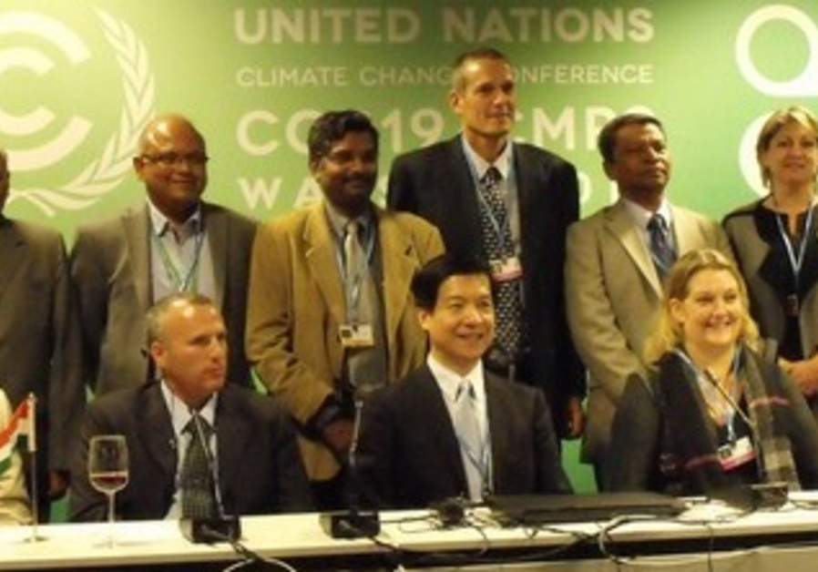 Israel-India Side Event at COP 19 a Resounding Success
