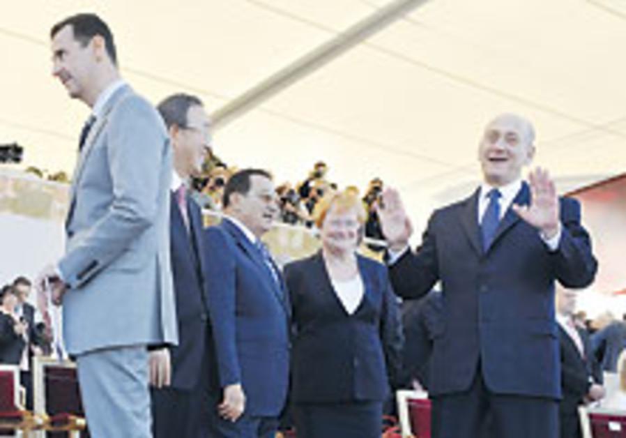 Pas de tango ? Paris pour Olmert et Assad
