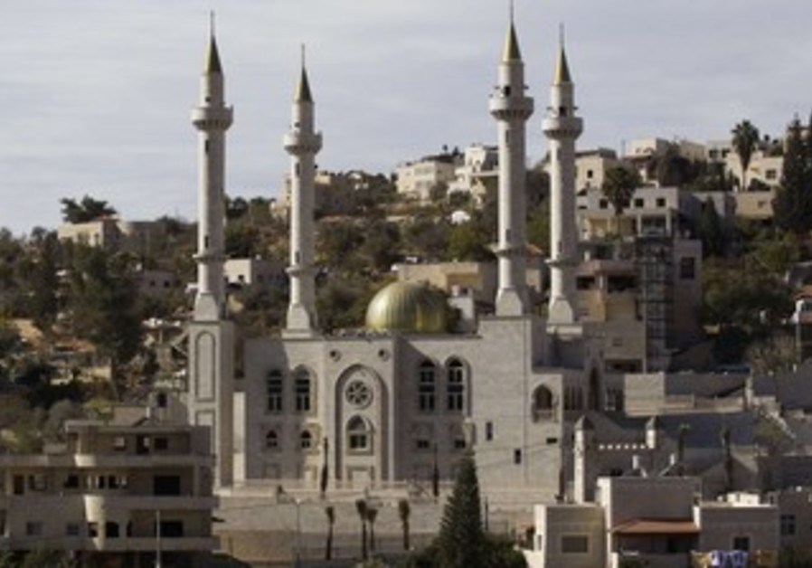 New mosque built in Abu Ghosh with funding by Chechnya.