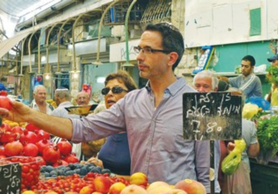Israeli chef Yotam Ottolenghi in Jerusalem