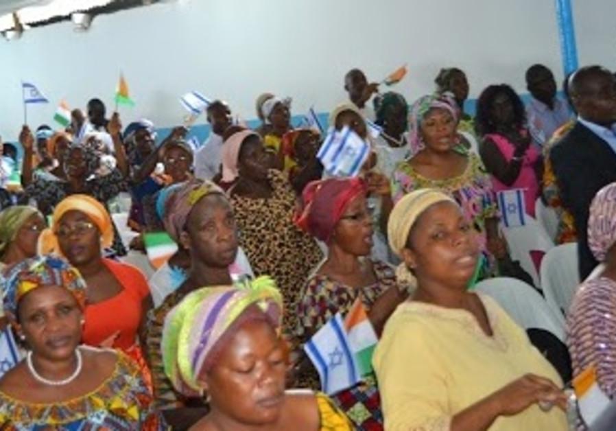 MIERA Community of Abidjan to Plant 1,000 Trees in Israel