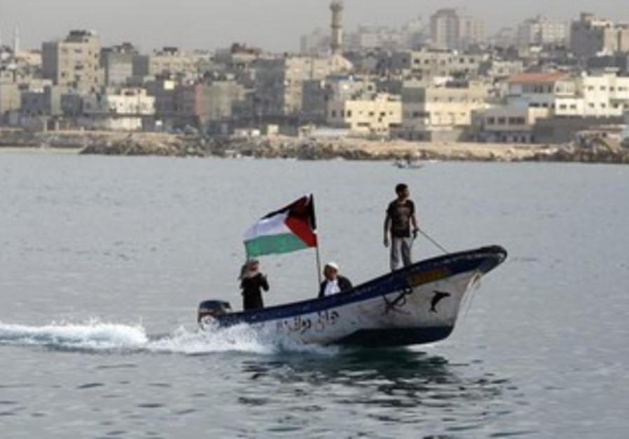 Gaza 'reverse flotilla', December 2, 2013