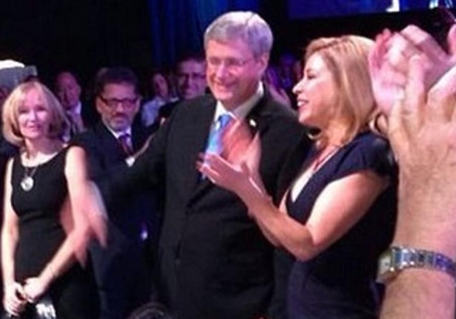 JNF Canada Honors Canadian PM Stephen Harper