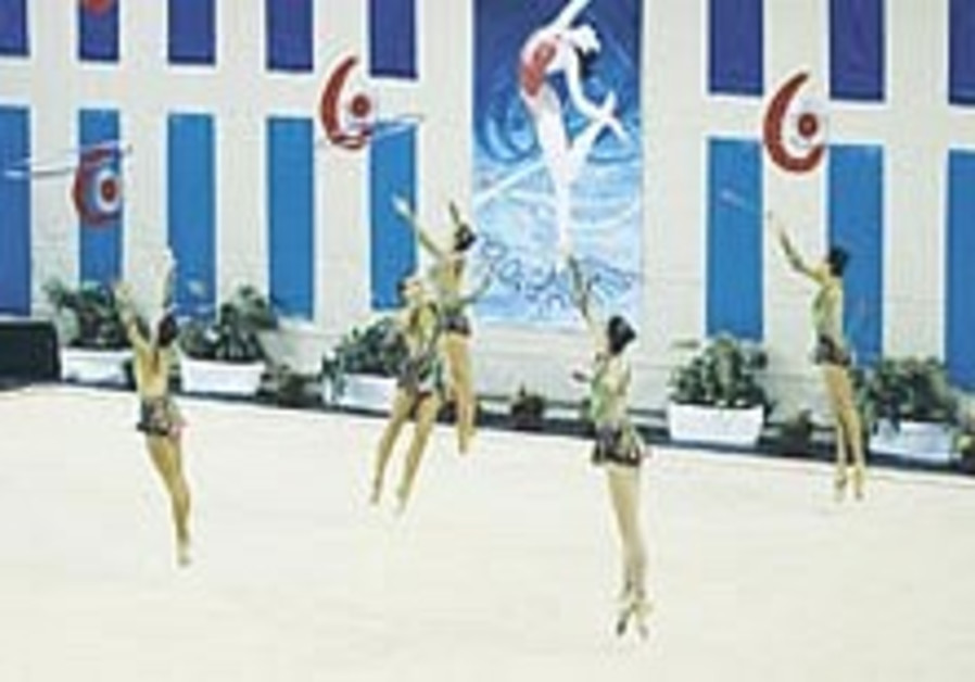 Israel earns sixth place finish in group gymnastics