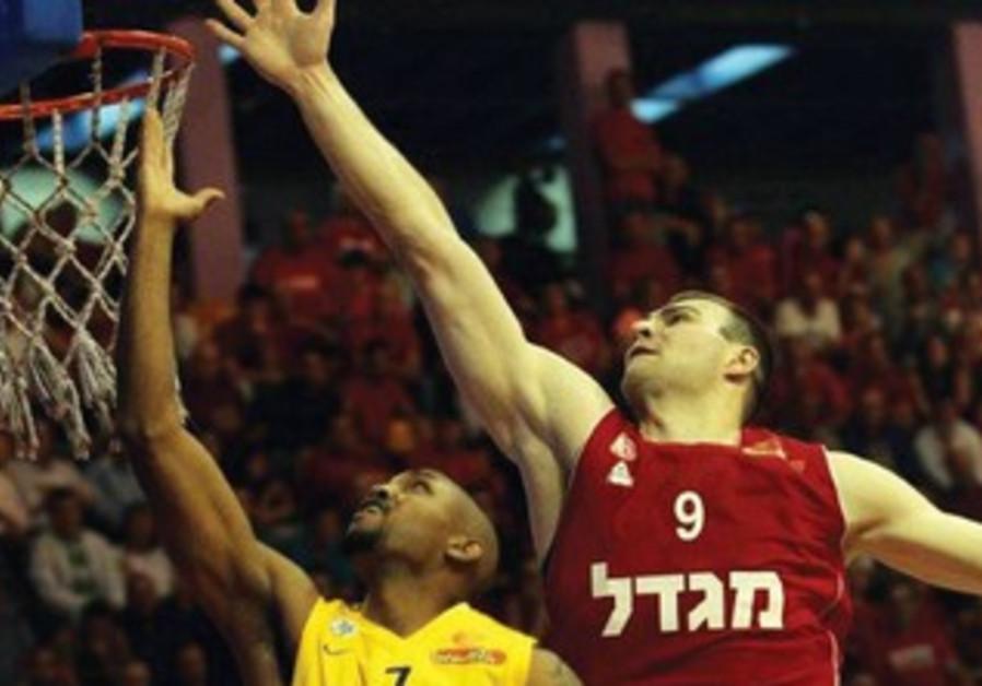 Hapoel Jerusalem  at Khimki Moscow in Eurocup action
