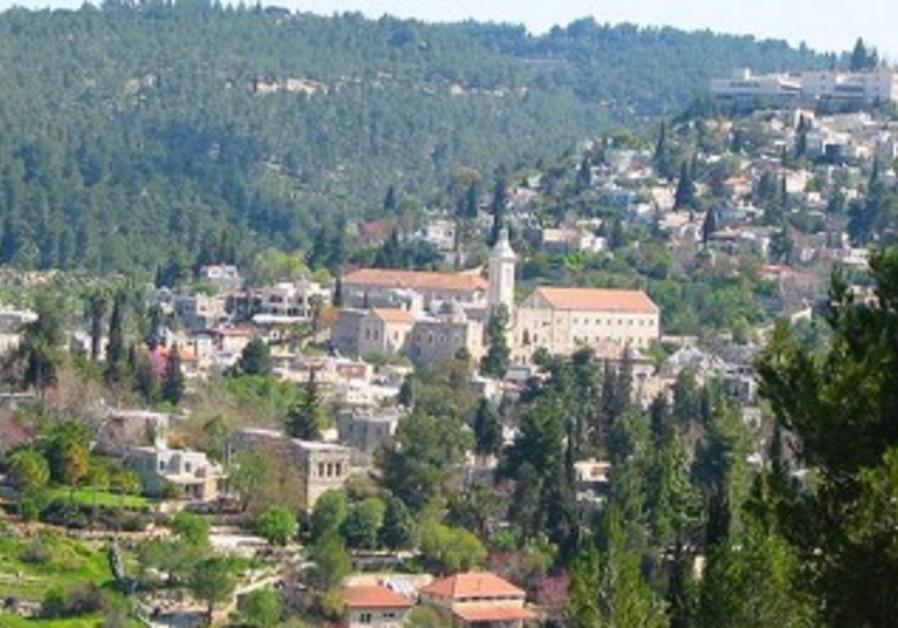 Jerusalem's Ein Kerem area.