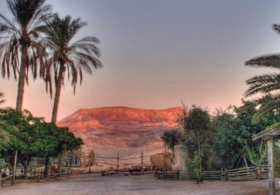 In and near Arad, there are many hikes and activities to choose from