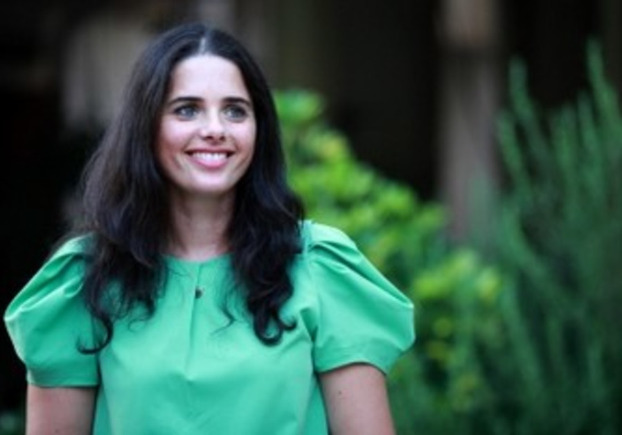 Bayit Yehudi MK Ayelet Shaked