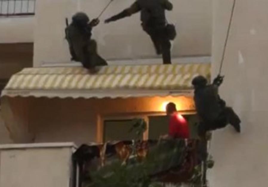 Police rescue in Ashkelon