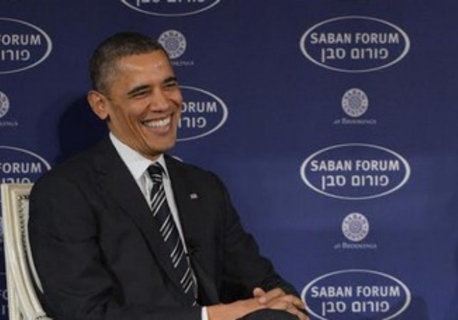 Obama at the Saban Forum, December 12, 2013