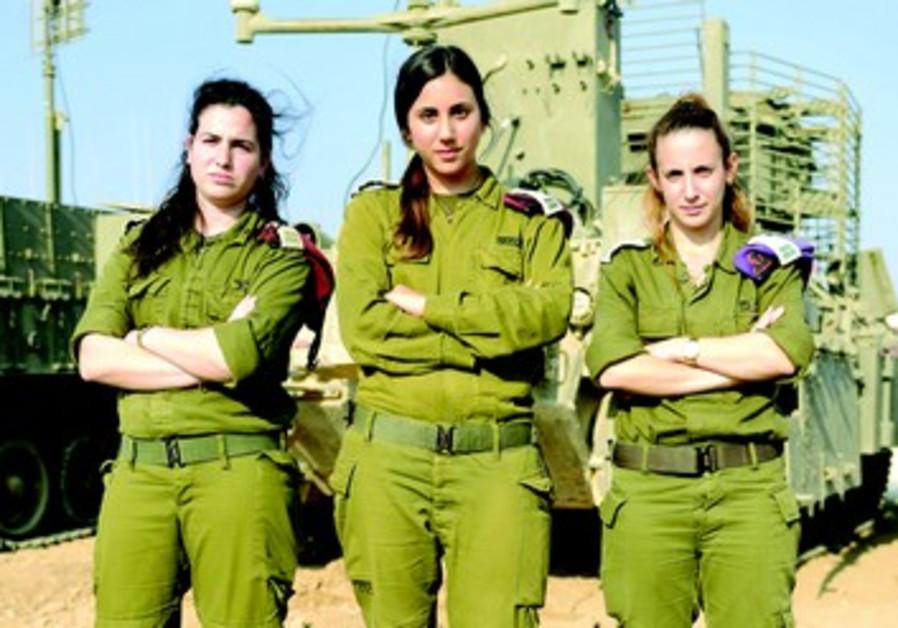 3 jeunes officières qui ont fait leurs preuves : Dana Nahab, Omer Pastel et Aya Guishouri