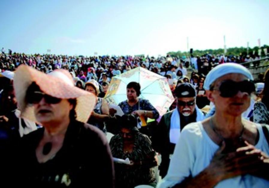 Rassemblement chrétien en Israël