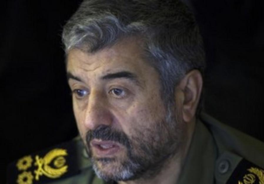 Iran Revolutionary Guards commander Mohammad Ali Jafari