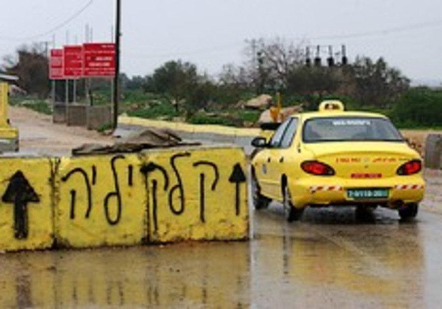 Eldad, Elkin want Palestinian cars off Hebron road
