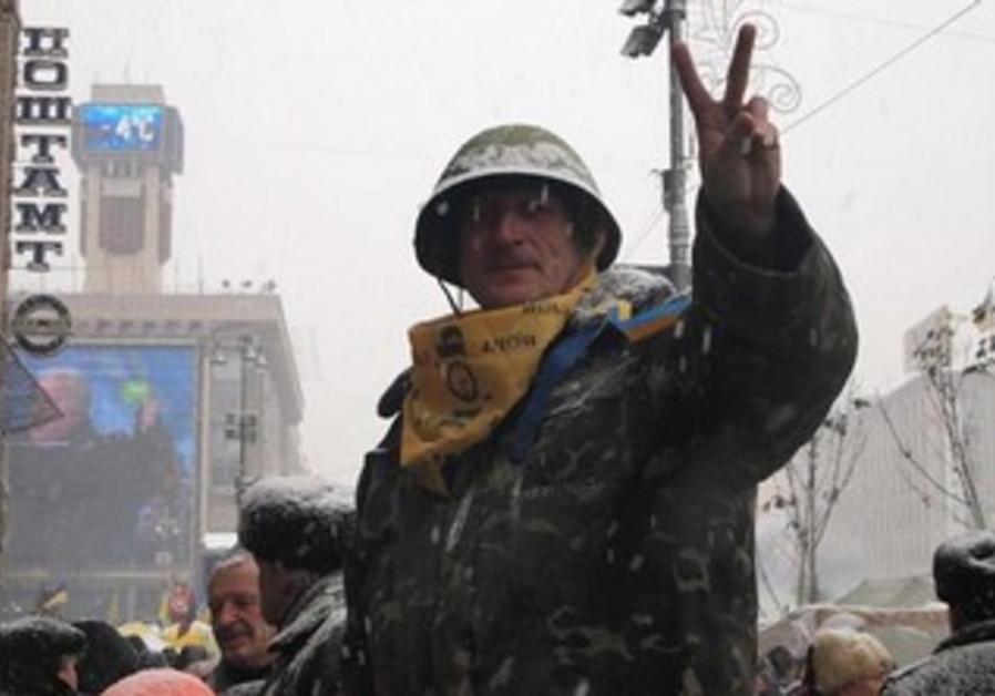 Protests in Kiev, Ukraine, December 12, 2013