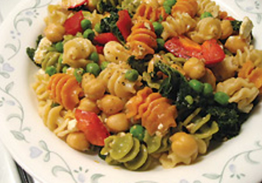 Light and lively pasta salads
