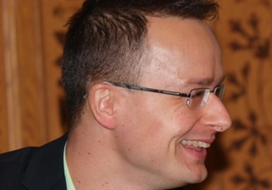 Hungarian State Secretary for Foreign Affairs and External Economic Relations Péter Szijjártó