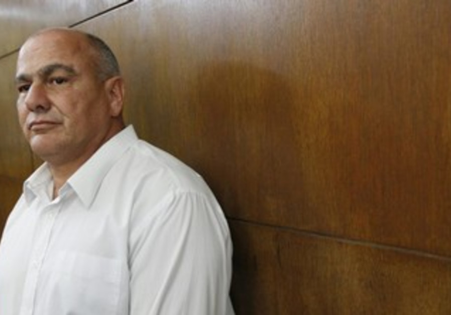 Danny Danker at the Tel Aviv District Court, December 19, 2013.