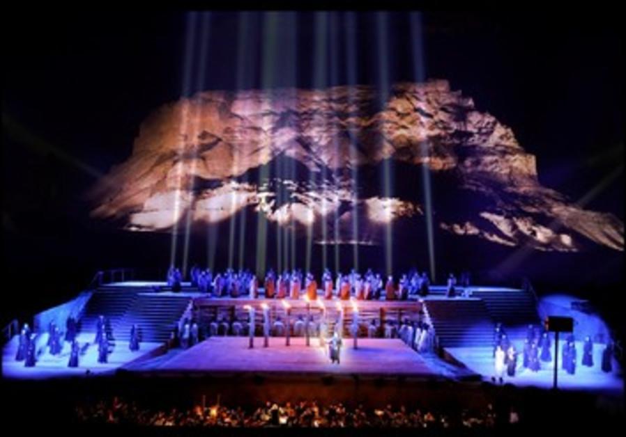 Précédente édition du festival Massada réalisé par l'Opéra israélien.