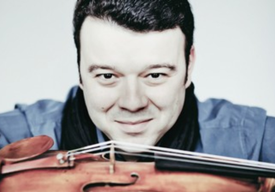 Vadim Gluzman will perfom two concerts at the Tel Aviv Museum of Art together with his wife.