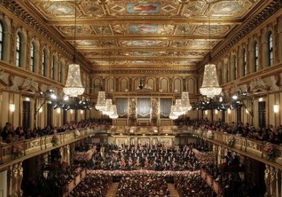 Vienna Philharmonic Orchestra at the Musikverein in Vienna