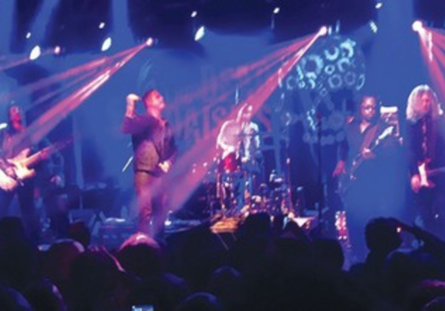 Supergroup The Dead Daisies rock it up for local fans at Tel Aviv's Barby Club.