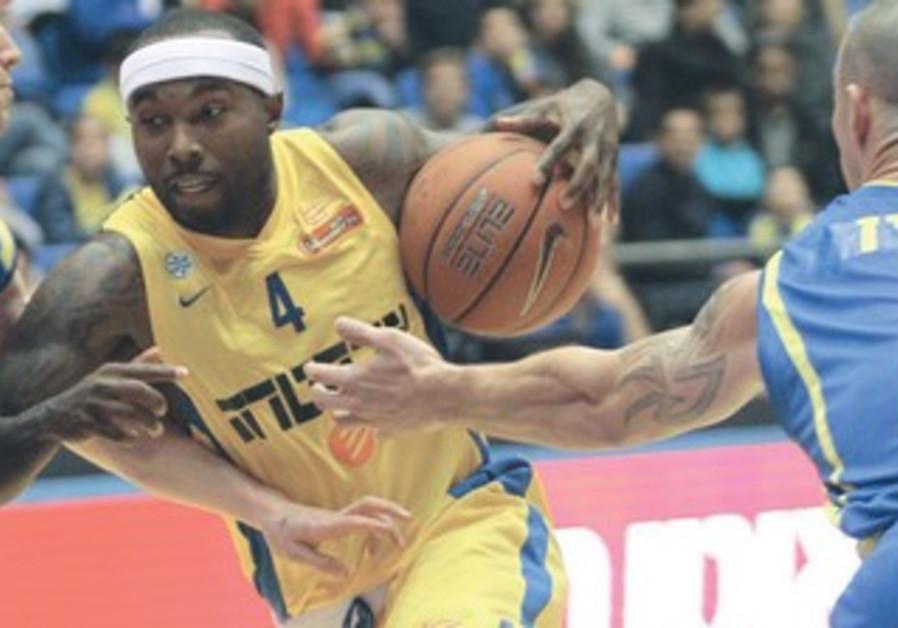 Maccabi Tel Aviv's Tyrese Rice