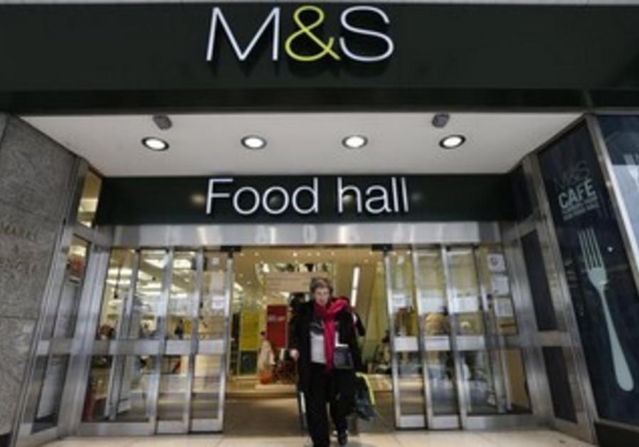 Marks & Spencer shop in central London.