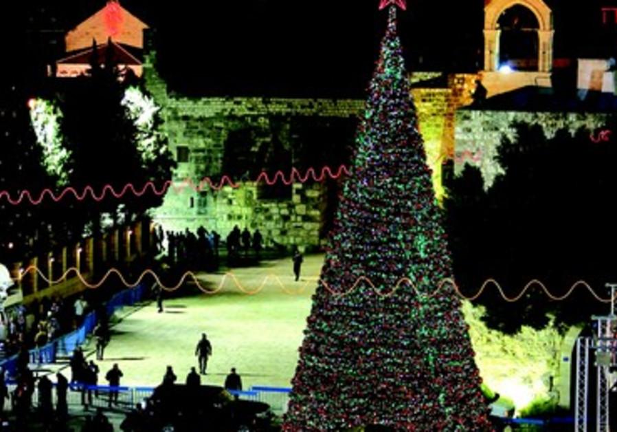 Noël rassemble de nombreux croyants en Israël