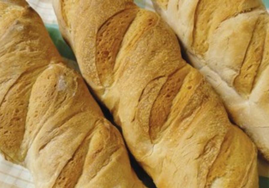 """Ciabatta [pronounced cha-batta] means """"slipper"""" in Italian, the shape of the bread"""