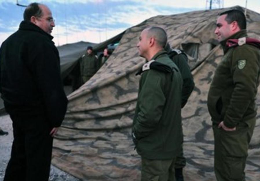Defense Minister Moshe Ya'alon