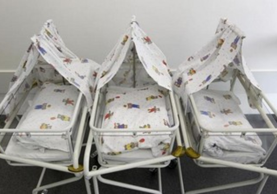 Baby cots [Illustrative].