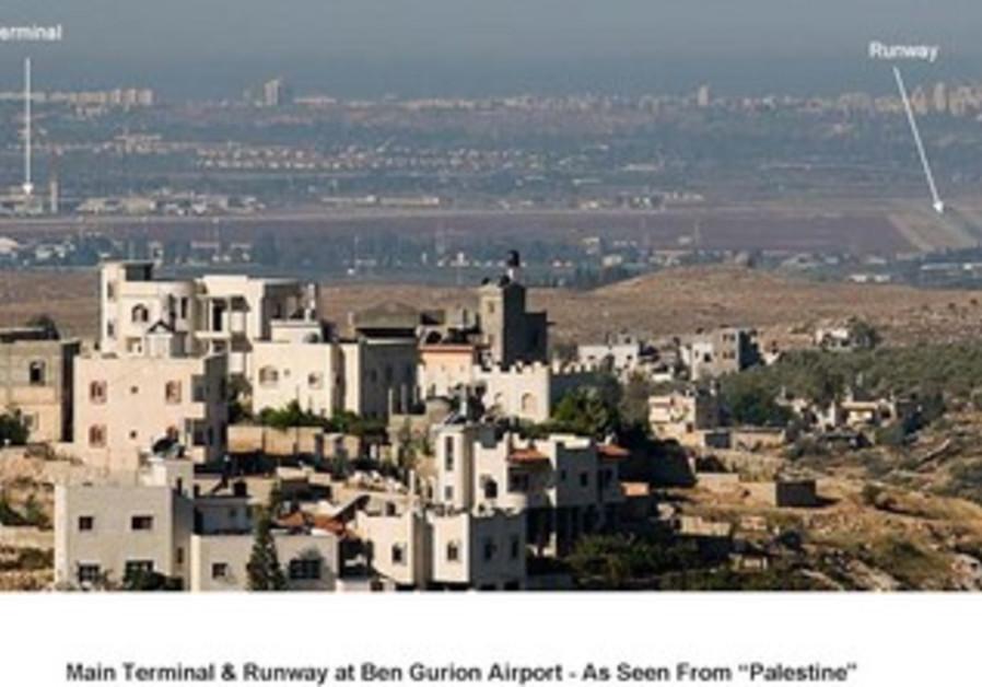 Views of Israel seen from Palestinian territories.