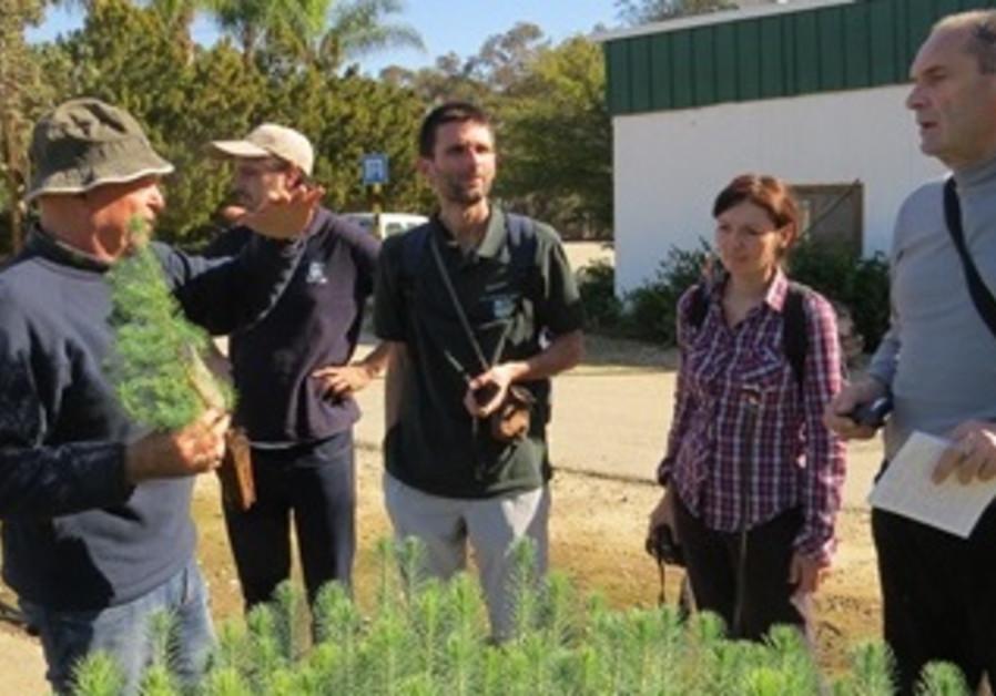 Foresters from Republika Srpska visit Israel