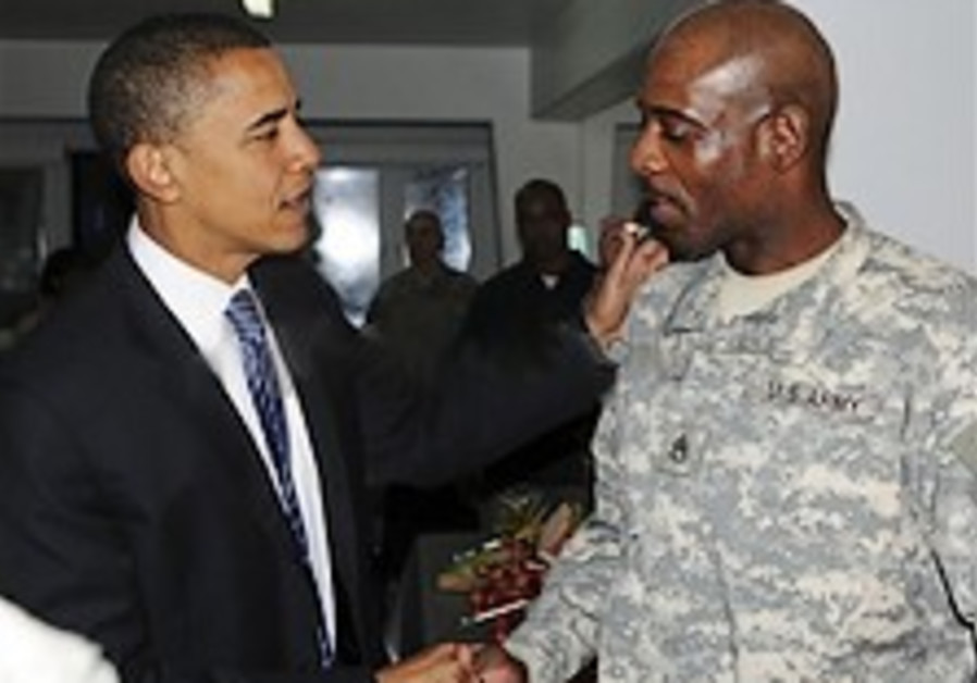 Obama meets US commanders of Iraq war in Baghdad