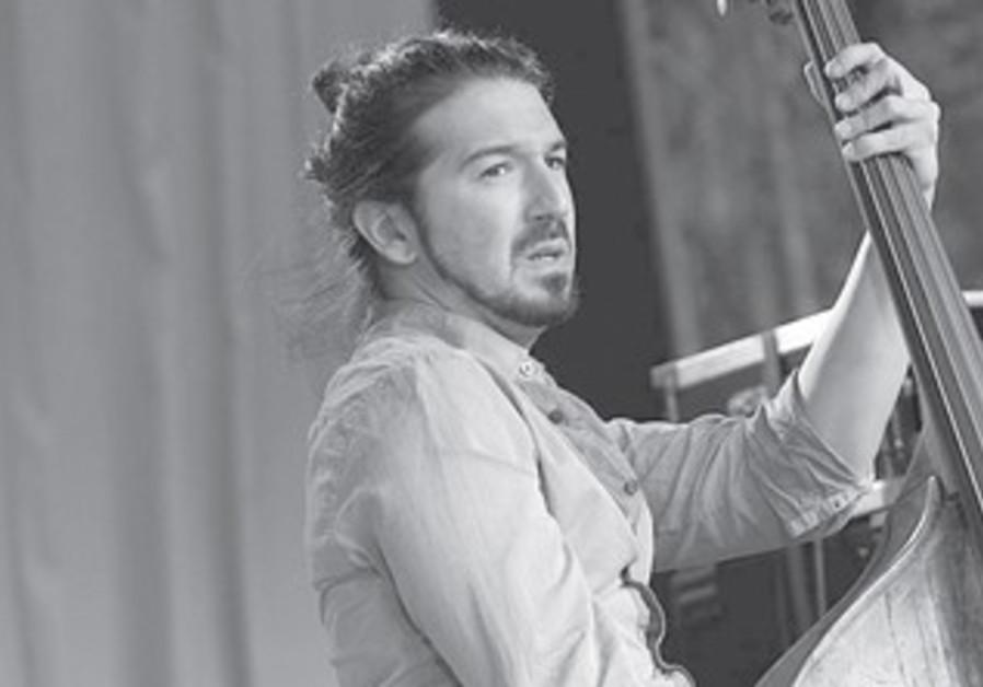 Bass player Gilad Abro.