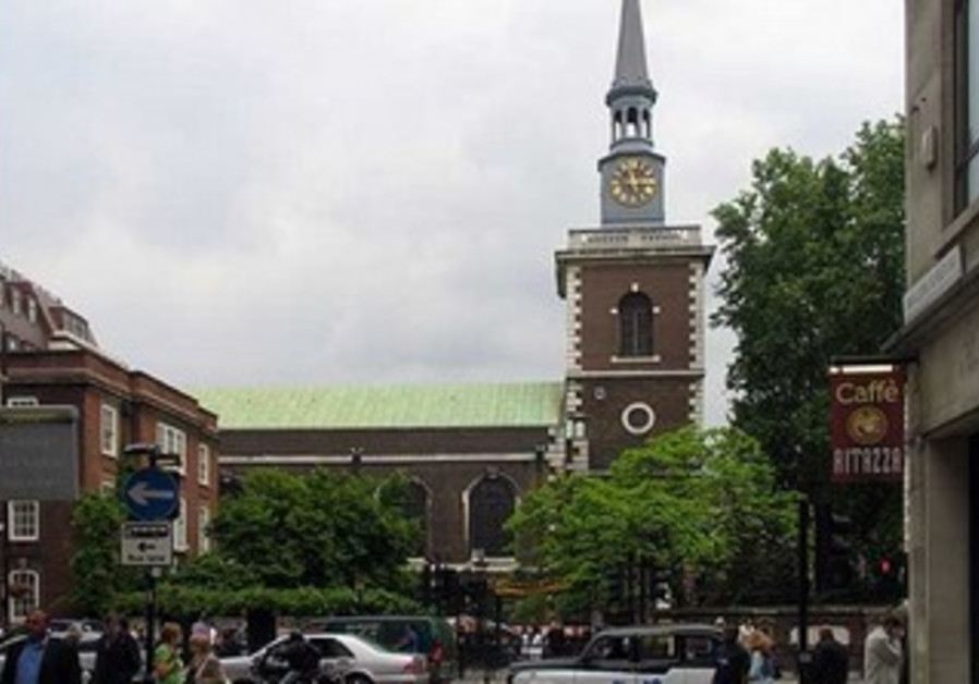 St. James Church, Piccadilly, London.