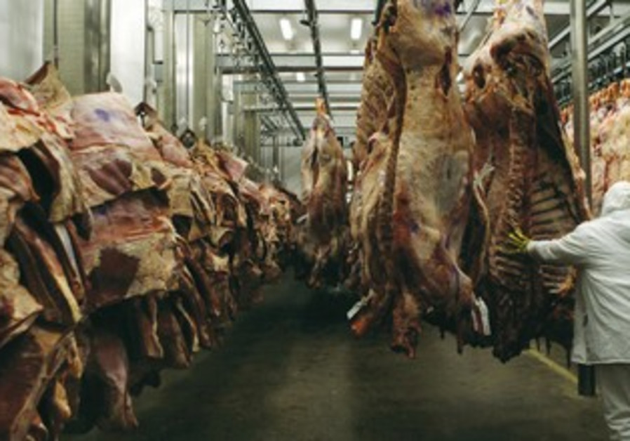 Meat factory. [File]