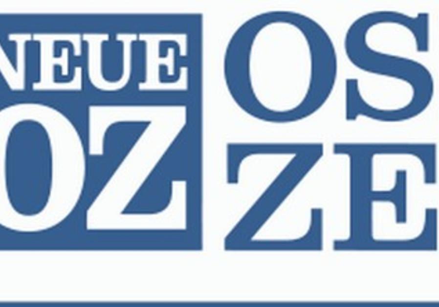 The logo for Neue Osnabrücker Zeitung