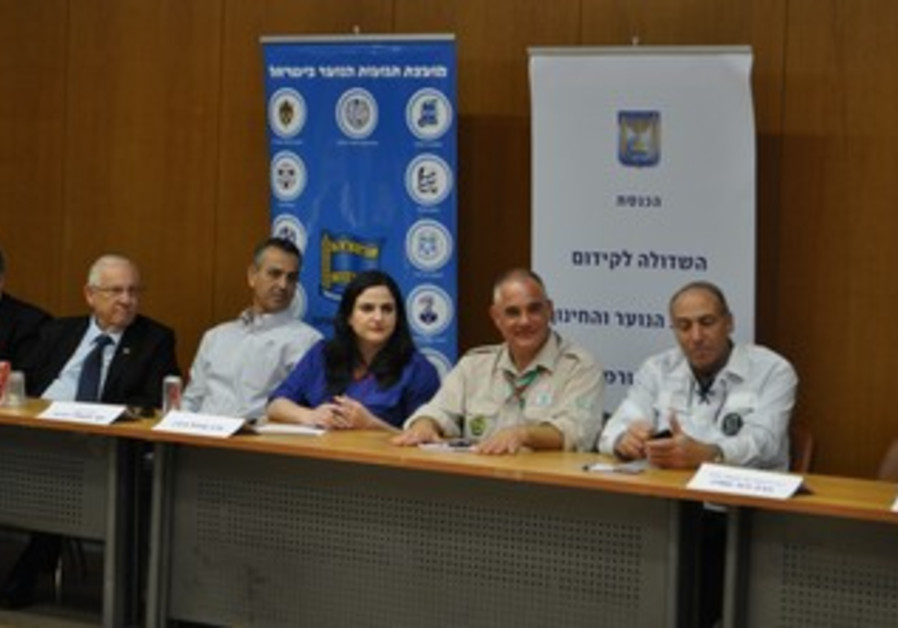 A meeting of the Knesset Caucus for Youth Groups.