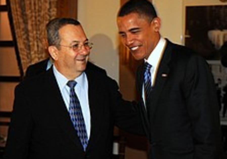 Obama unexpectedly joins Barak-Jones meeting