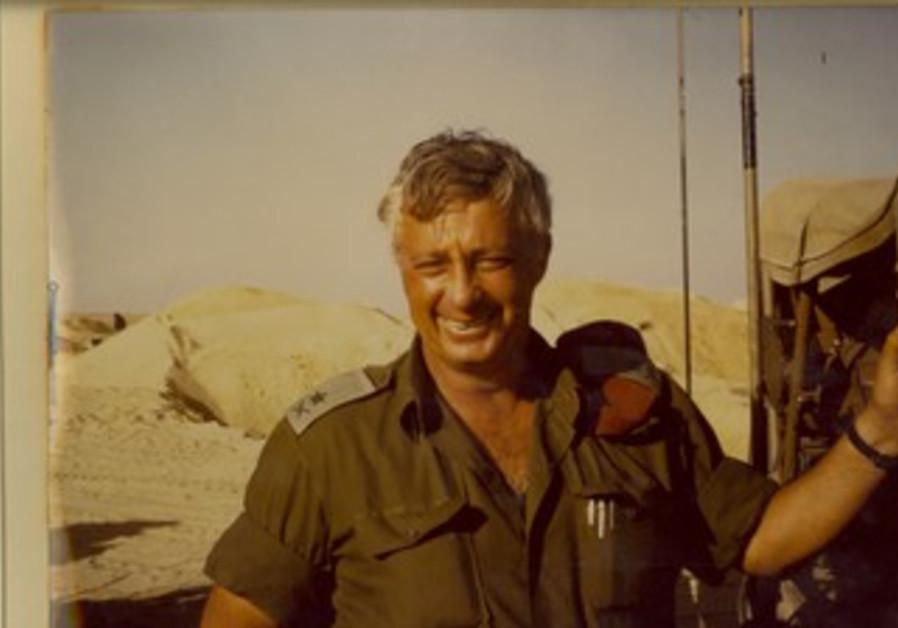 Ariel Sharon, une semaine après le cessez-le-feu de la Guerre de Kippour
